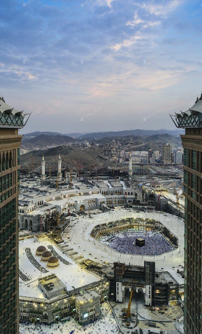 Mecca, Saudi Arabia, pilgrimage site