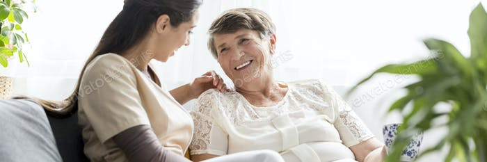 Caregiver an caretaker