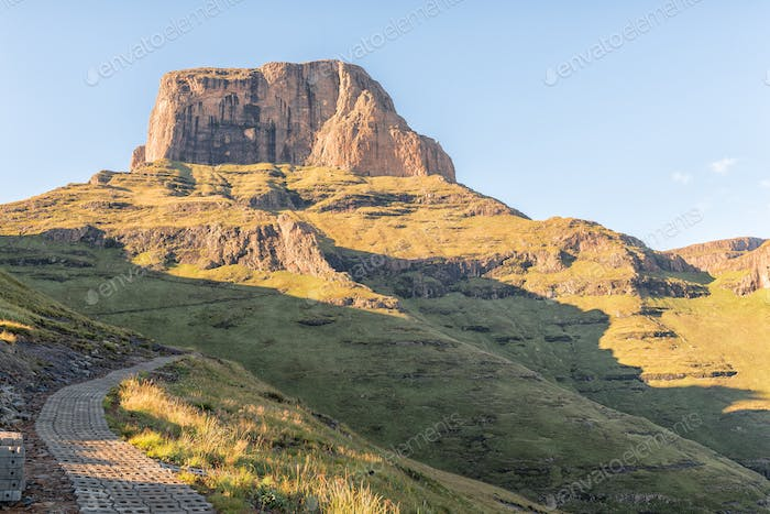 Sentinel Trail to the Tugela Falls in the Drakensberg