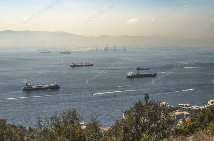 View from Gibraltar
