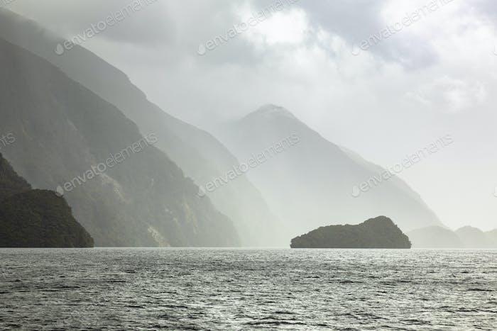 Doubtful Sound Fiordland National Park New Zealand