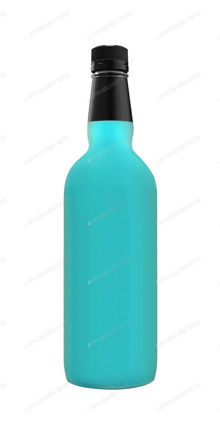 Organic Blue Craft Soda