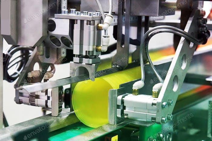 Industria del embalaje de máquinas