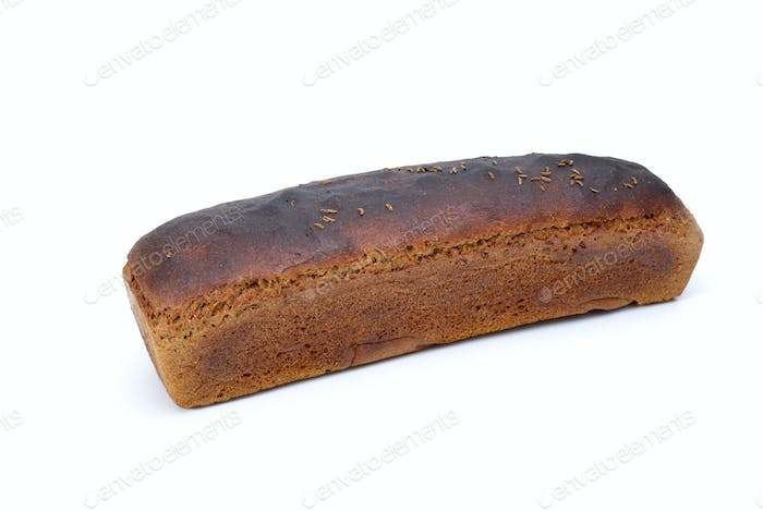 Loaf of rye bread with anise