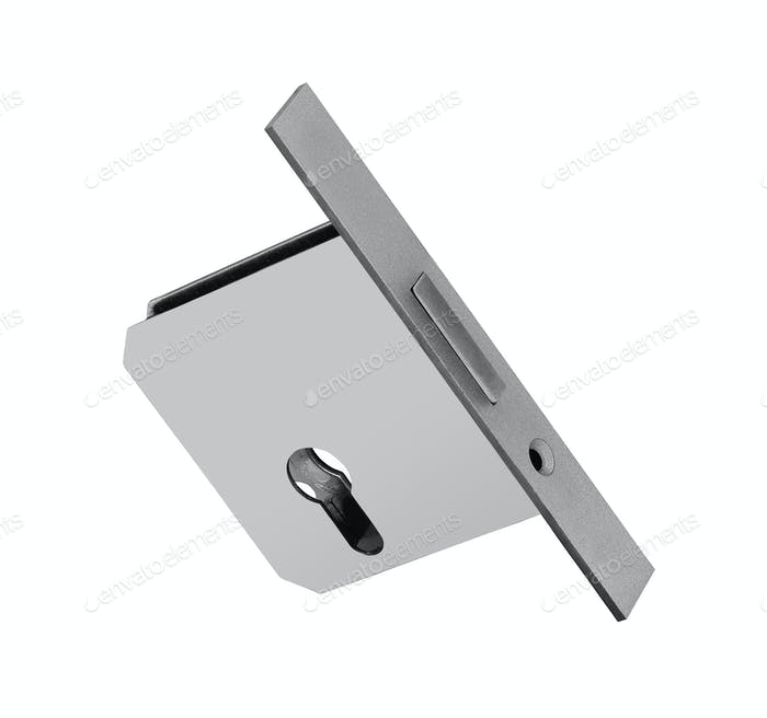 conventional mortise lock for door isolated