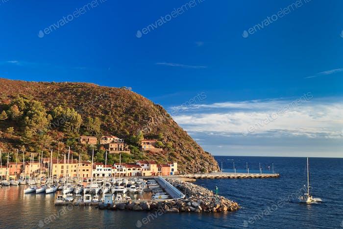 Capraia Island, Italy