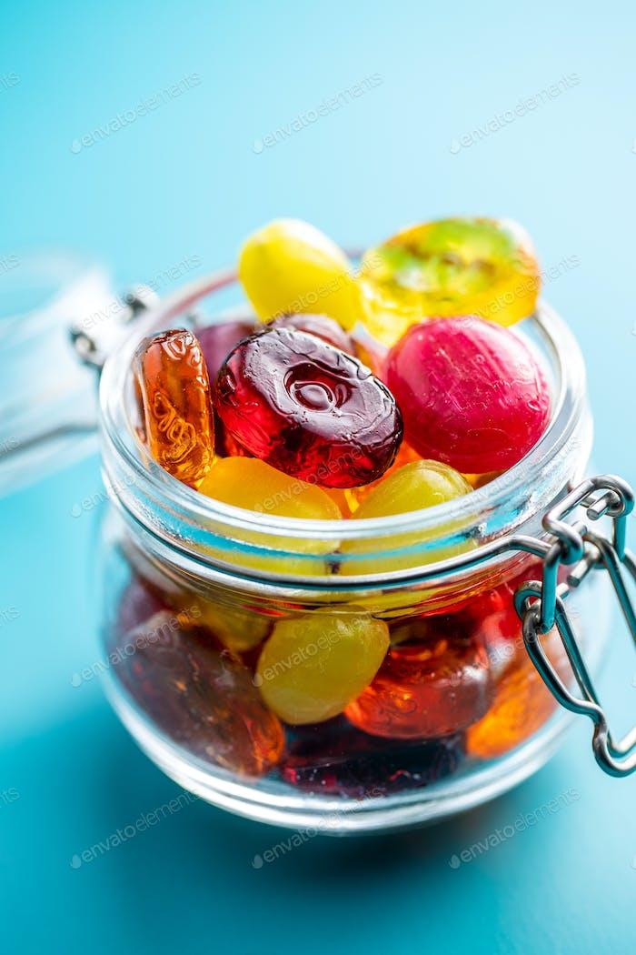 Süße bunte Süßigkeiten.