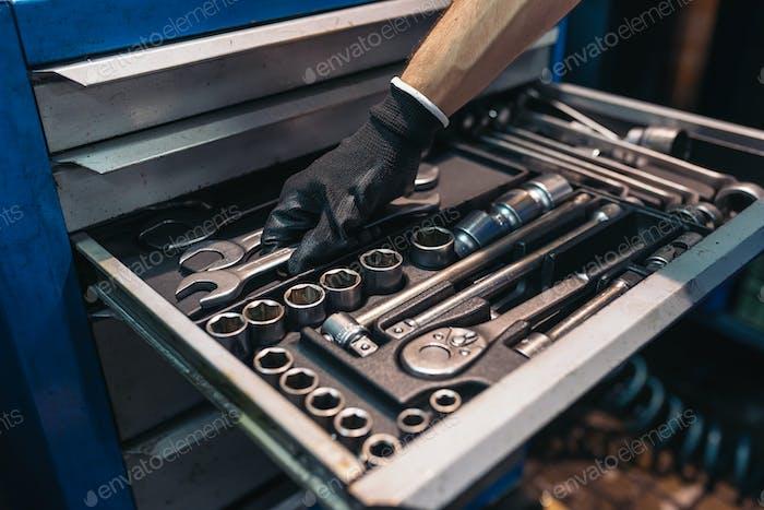 Tool Suitcase.