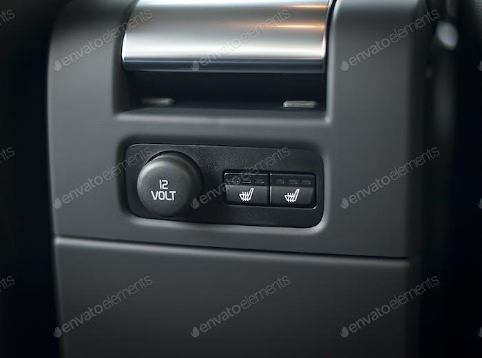 12V power outlet socket in a car