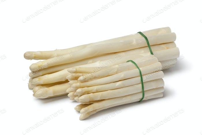 White large and mini asparagus