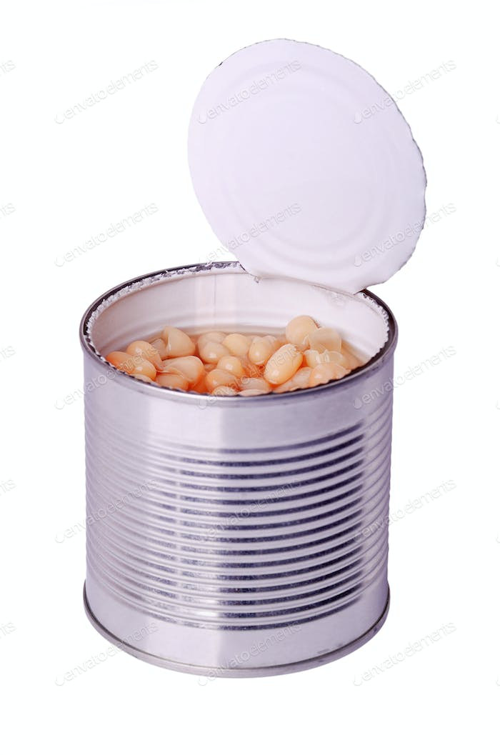 can with white beans