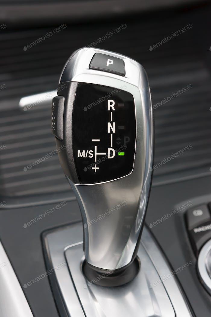 Sportscar gear shifter