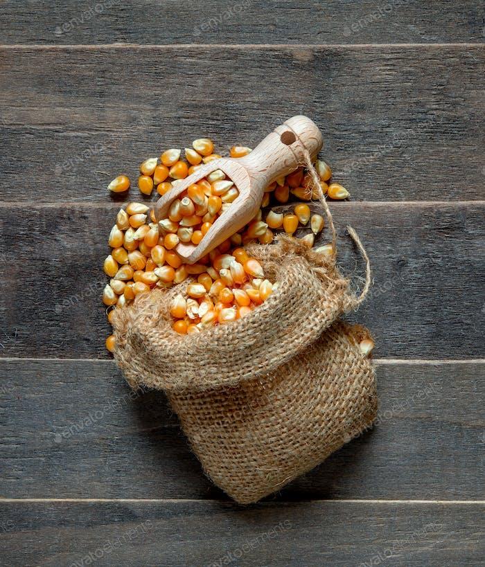 cob grain in the sack