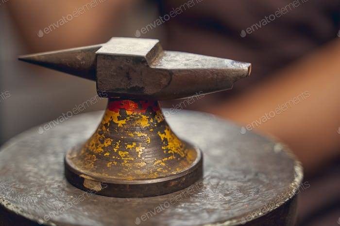 Tool used for jewelry repair and flattening metals