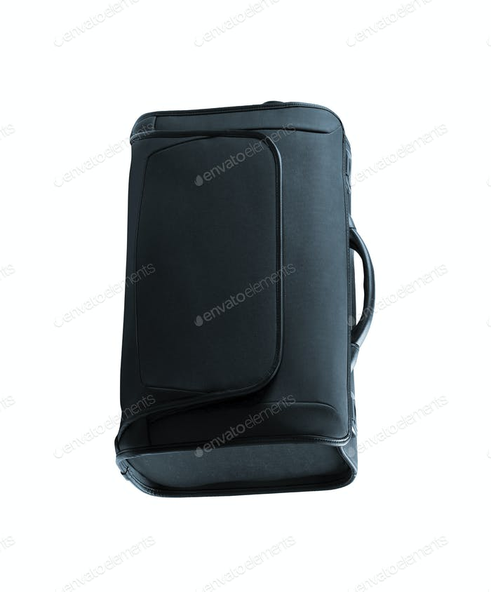 Briefcase or business bag isolated