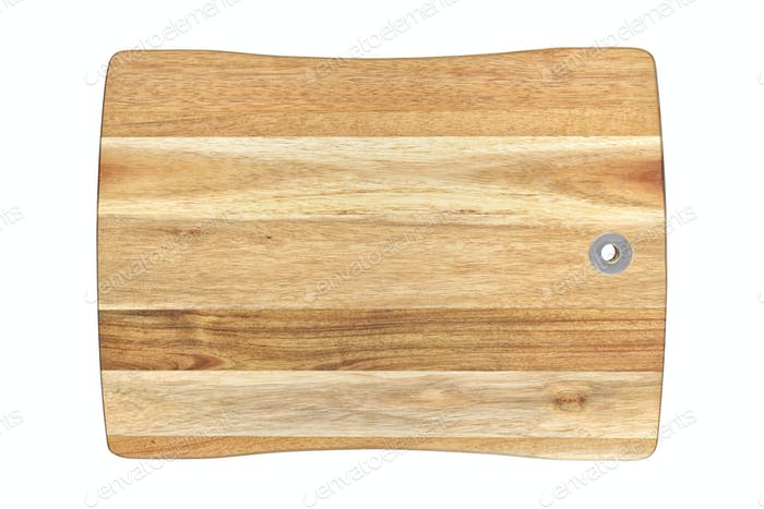 Cutting or chopping board isolated