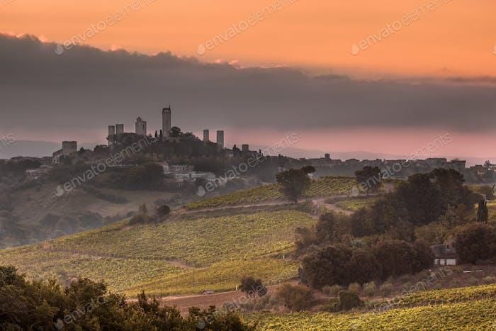 San Gimignano Town, Italy