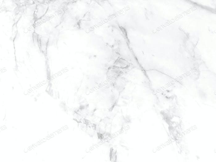 Weiße Marmor-Textur mit natürlichem Muster für Hintergrund oder Design-Kunstwerke. Hohe Auflösung