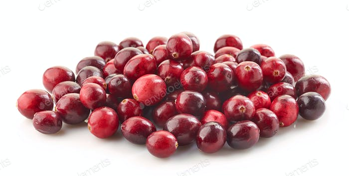 heap of cranberries