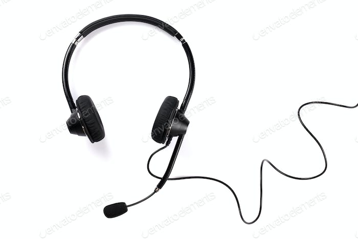 Helpdesk headset