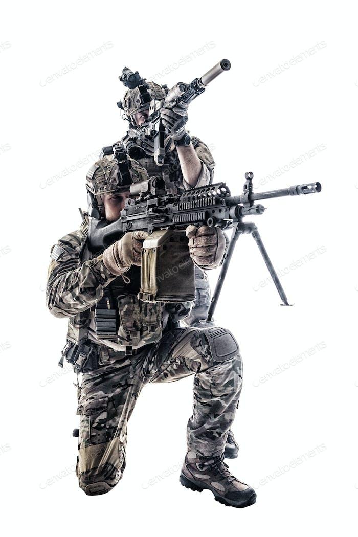 Army Rangers in field Uniforms