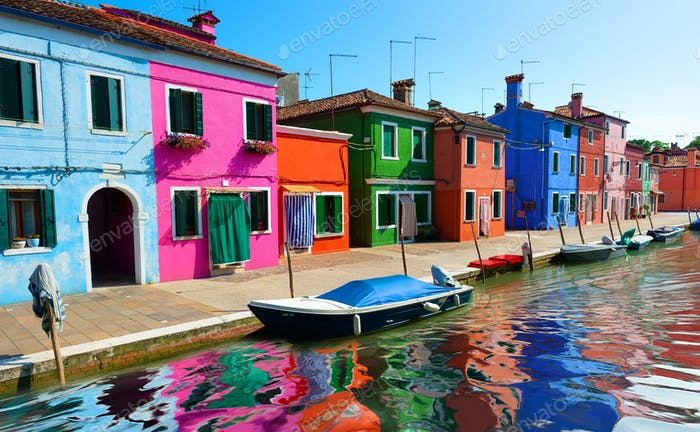 Painted houses of Burano