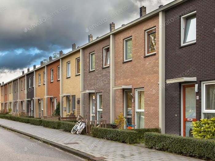 European Style Terrace Houses