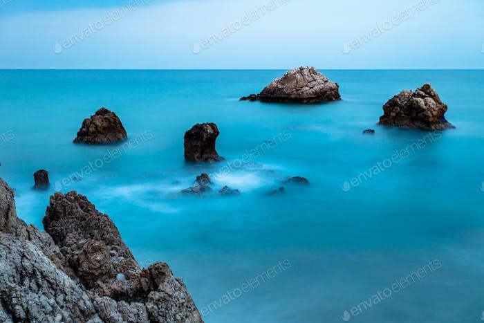Beach of Torre de la Sal, Casares, Malaga, Spain