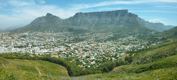 Table Mountain from signal hill