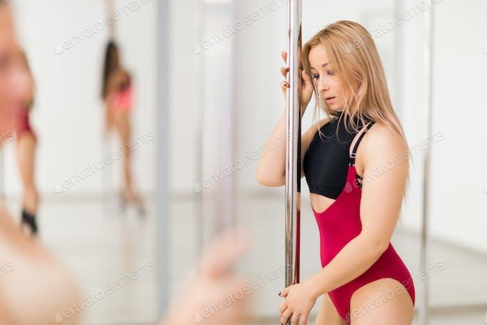 Poledance workout