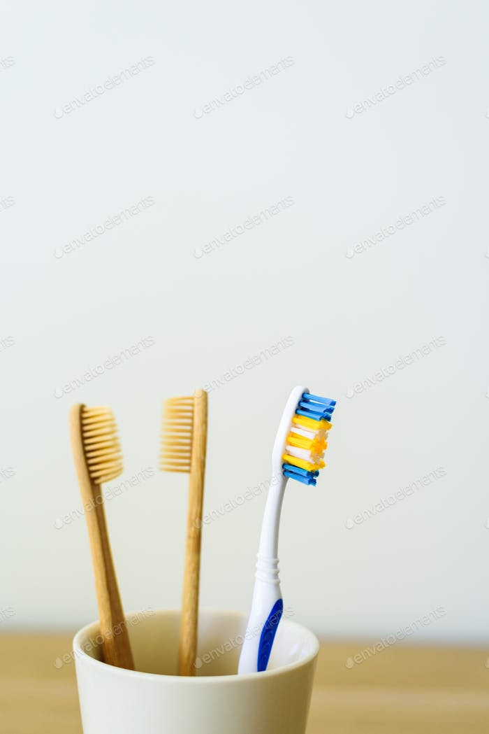 Zero-Waast-Konzept - Zahnbürste
