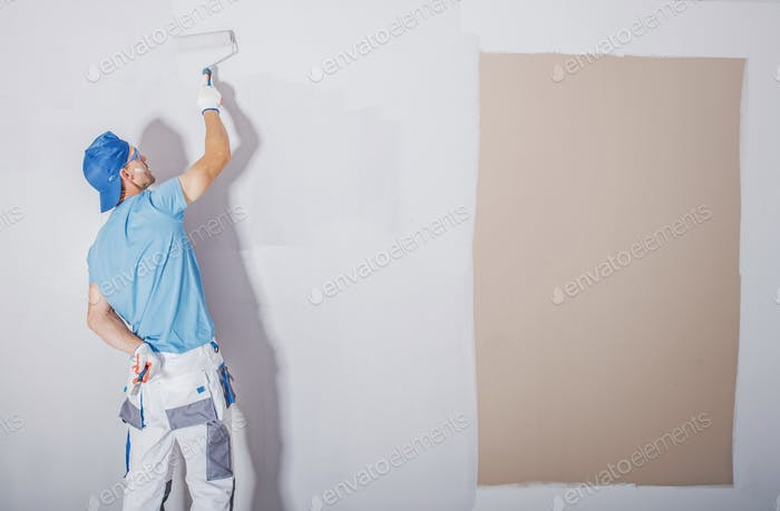 Room Painter at Work