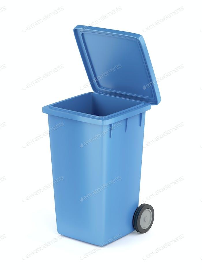 Kunststoff-Mülltonne