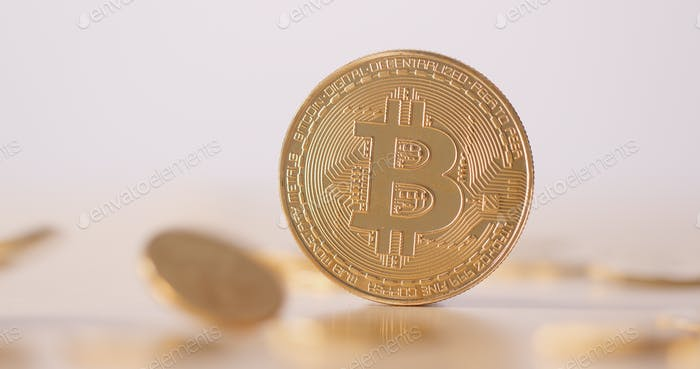 Fallen von Bitcoin
