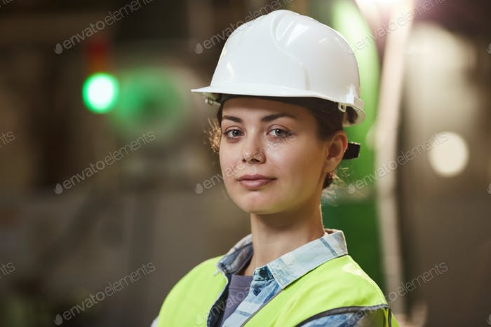 Businesswoman in workwear