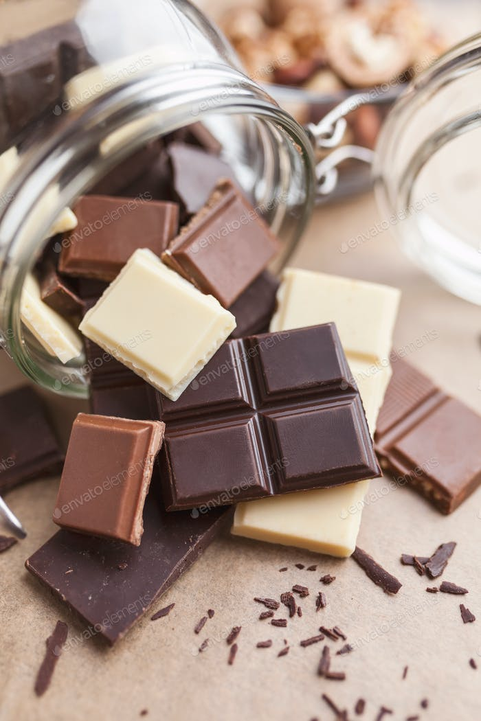 Вкусные шоколадные батончики