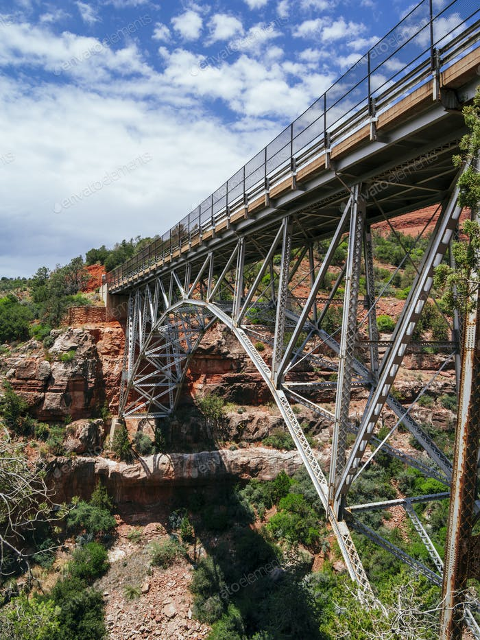 Midgley bridge in Sedona Arizona