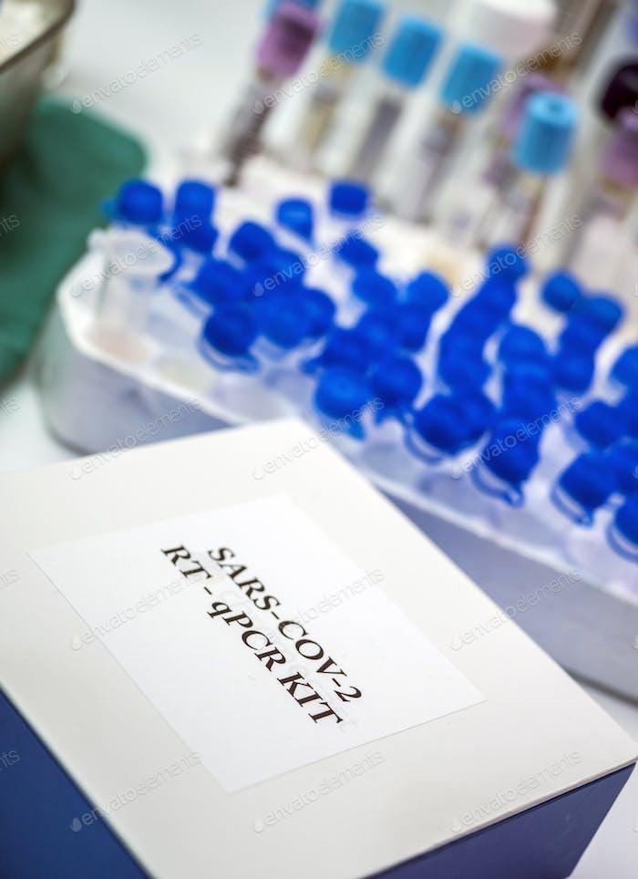 Novel coronavirus 2019 nCoV pcr diagnostics kit.