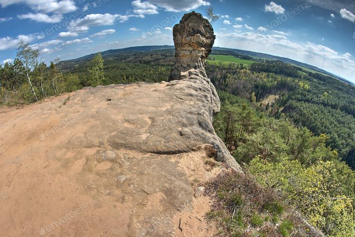 Capska cudgel - rock formation