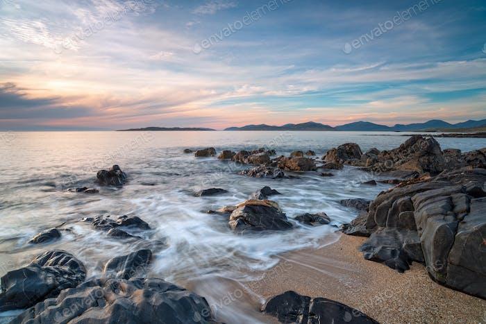 Rocks on the beach at Bagh Steinigidh