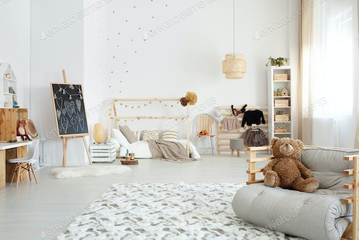 Kid's stylish bedroom