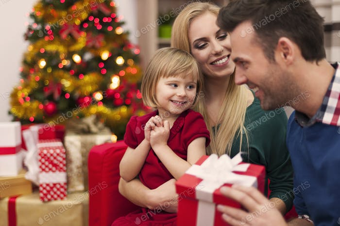Weihnachten verbringen mit der Familie