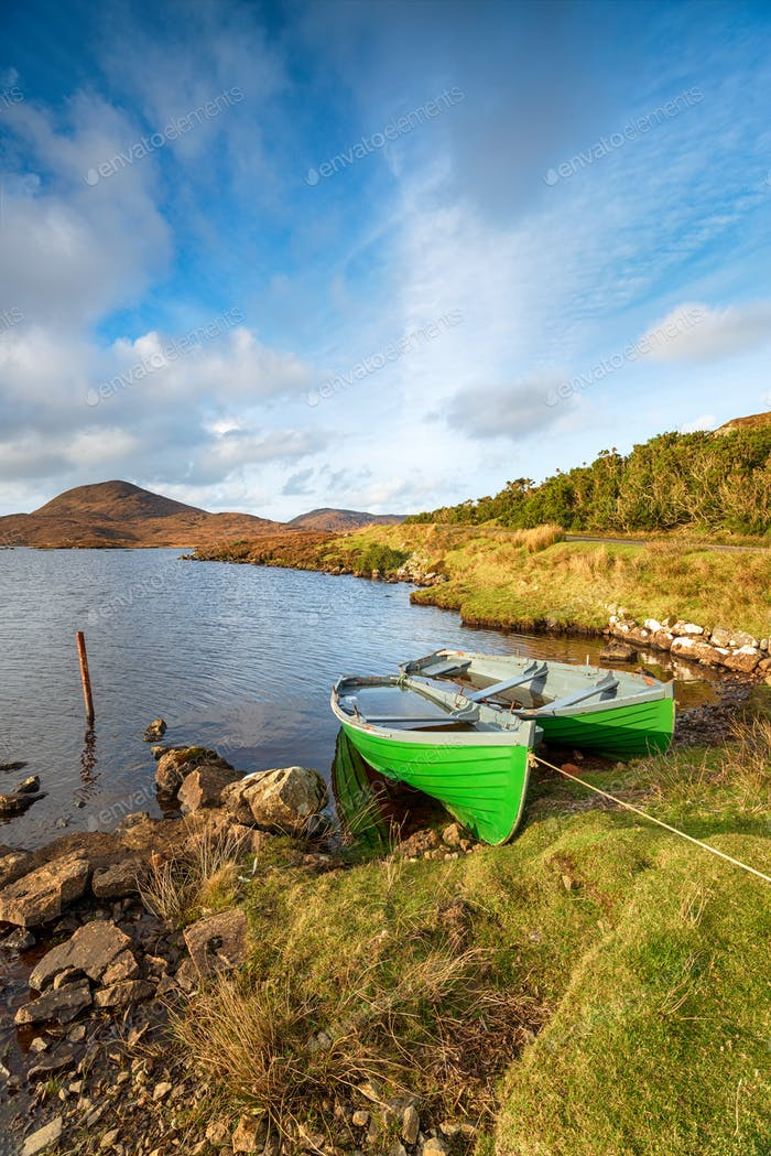 Rowing Boats on the Isle of Harris