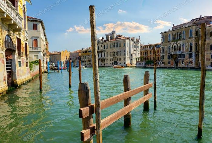 Romantisches Venedig Italien