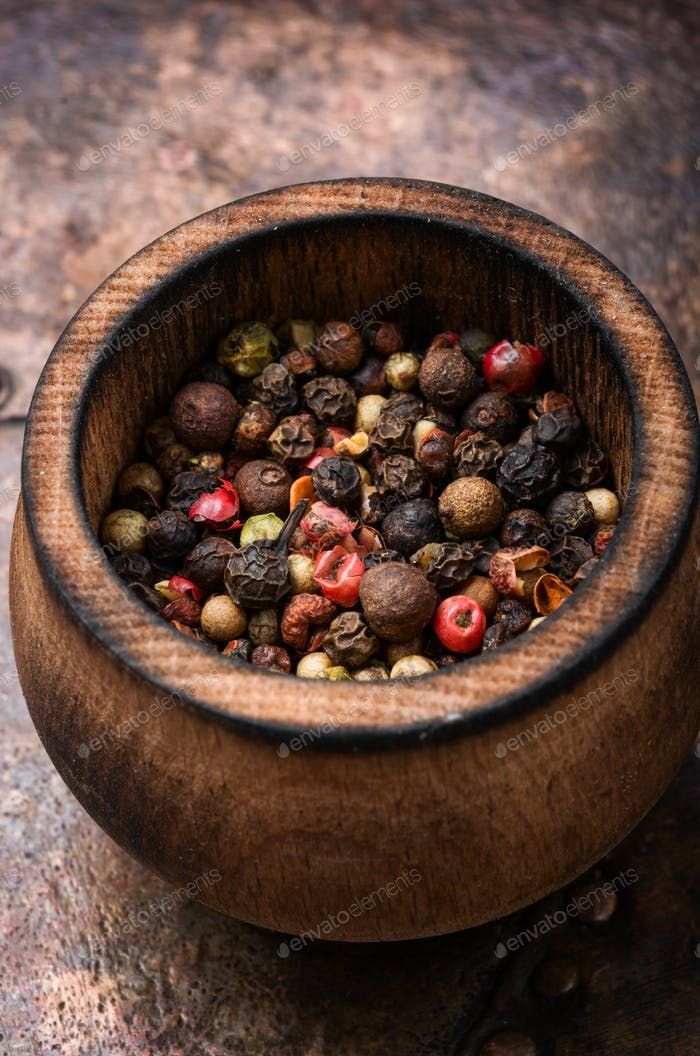 Pepper peas or peppercorn