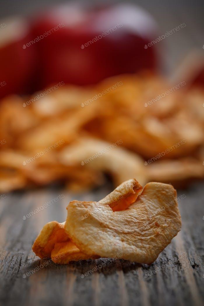 Dried apple fruit