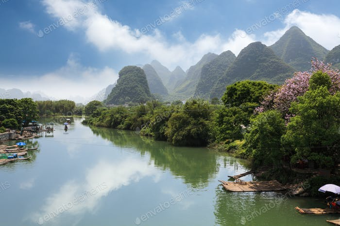 yangshuo yulong river