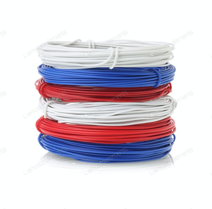 Stack Of Color Wires