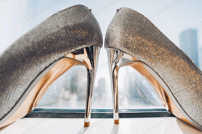 Thumbnail for Elegant wedding shoes