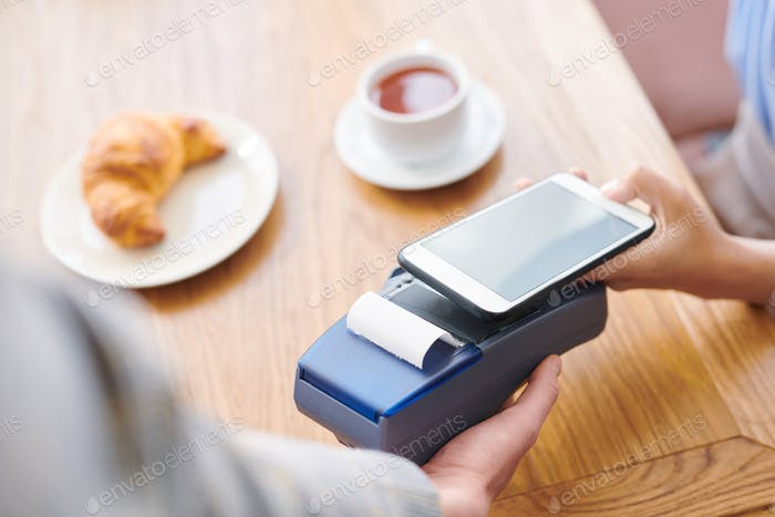 Paying through mobile payment system